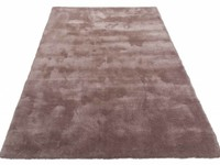 Moderner Hochflor Teppich Sandro 15 - Dunkelgrau