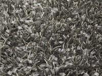 Schöner und weicher Hochflor Teppich Donna 23 Silbergrau