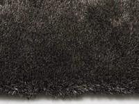 Hochflor Teppich Ross rund 26 Mix Anthrazit/Grau