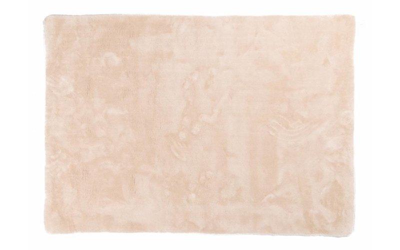 Moderner Hochflor Teppich Sandro 11 - Weiß