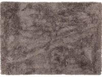 Cellia 23 - Hochflor Teppich in Hellgrau