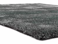 Hochflor Teppich Ross 31 Mix Hellgrau/Blau