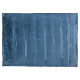 FloorPassion Fay Azur Blau- Kuschelteppich
