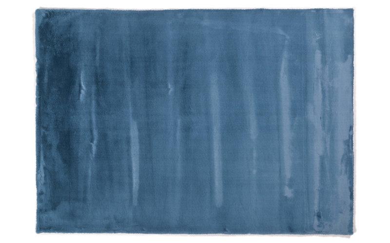 Fay Azur– Weicher Kuschelteppich in Azur blau