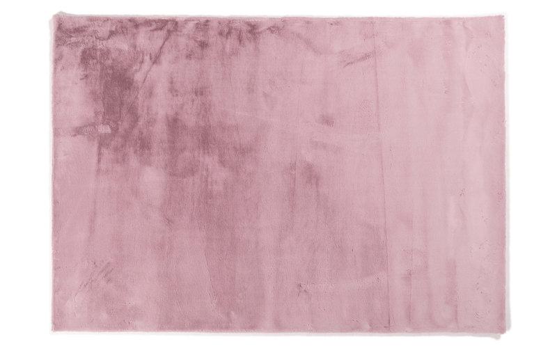Fay Dunkel Rosa– Weicher Kuschelteppich in Dunkles Rosa