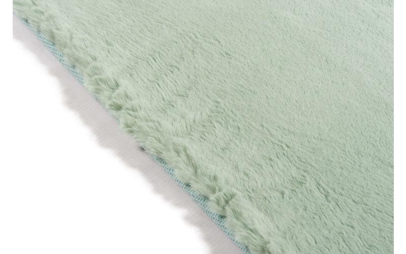 Fay Minzgrün– Weicher Kuschelteppich in Minz Grün