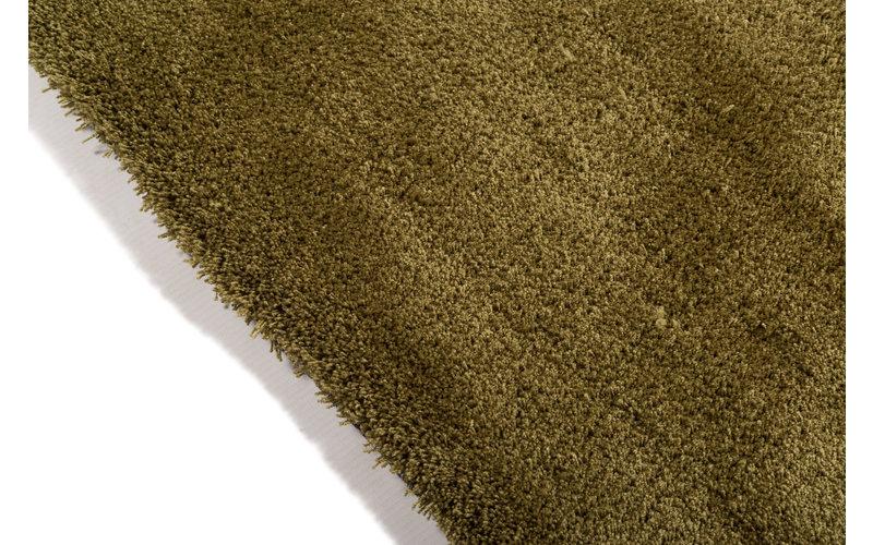 Moderner Hochflor Teppich Sandro 54 - Olivengrün