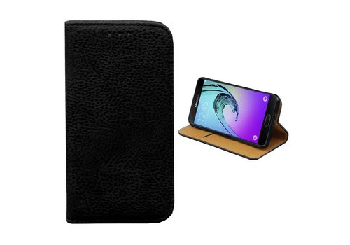 Bookcase PU Samsung J1 Mini  Black