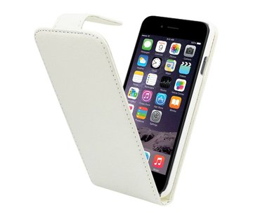 Colorfone iPhone 6 Flipcover Hoesje Wit  - Business Case