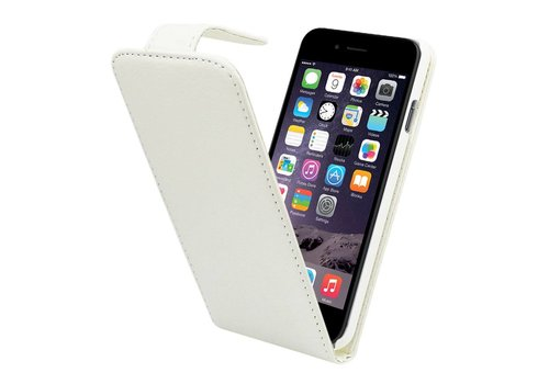 iPhone 6 Flipcover Hoesje Wit  - Business Case
