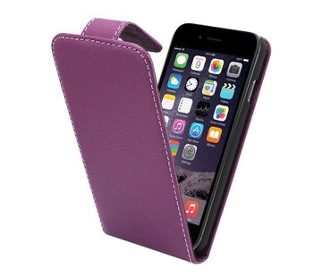Colorfone iPhone 6 Flipcover Hoesje Paars - Business Case