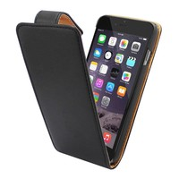 iPhone 6 Plus Flipcover Hoesje Zwart - Business Case