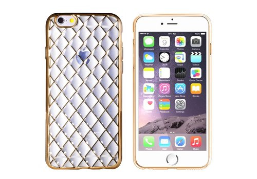 CoolSkin Diamond iPhone 6/6S Plus Transparant Goud