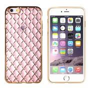 Colorfone iPhone 6 Plus en 6S Plus Hoesje Goud Roze  CoolSkin Diamond