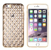 Colorfone iPhone 6 en 6S Hoesje Goud Zwart CoolSkin Diamond