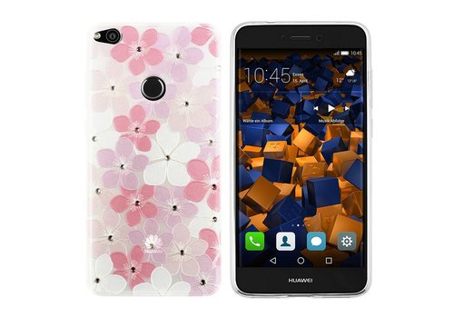 CoolSkin Flowers Huawei P8 Lite 2017 Pink+White+Purple