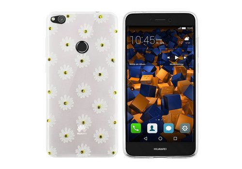 CoolSkin Flowers Huawei P8 Lite 2017 White