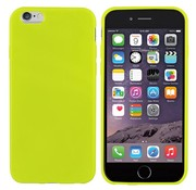 Colorfone iPhone 6 Plus Siliconen Hoesje Licht Groen CoolSkin