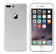 Colorfone iPhone 8 Plus en 7 Plus Hoesje Zilver CoolSkin Slim