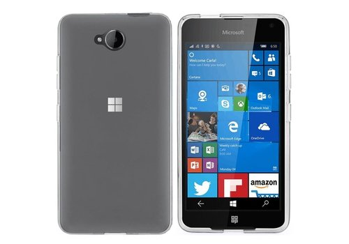 CoolSkin3T Microsoft Lumia 650 Transparent White