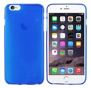Colorfone iPhone 6 Plus Hoesje Transparant Blauw CoolSkin3T