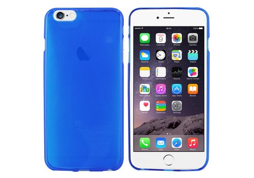 CoolSkin3T Hoes iPhone 6 Plus Transparant Blauw