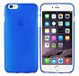 iPhone 6 Plus Hoesje Siliconen Transparant Blauw - CoolSkin3T