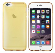 Colorfone iPhone 6 Plus Hoesje Transparant Goud CoolSkin3T