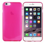 Colorfone iPhone 6 Plus Hoesje Transparant Donker Roze CoolSkin3T