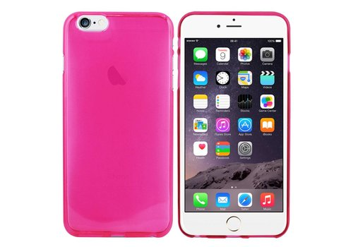 CoolSkin3T iPhone 6 Plus Transparant Donker Roze