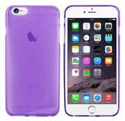 Colorfone iPhone 6 Plus Hoesje Transparant Paars CoolSkin3T