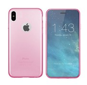 Colorfone iPhone X and Xs Case Pink Transparent - CS3T