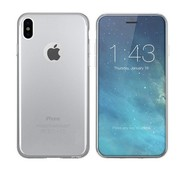 Colorfone iPhone X en Xs Hoesje Transparant CoolSkin3T