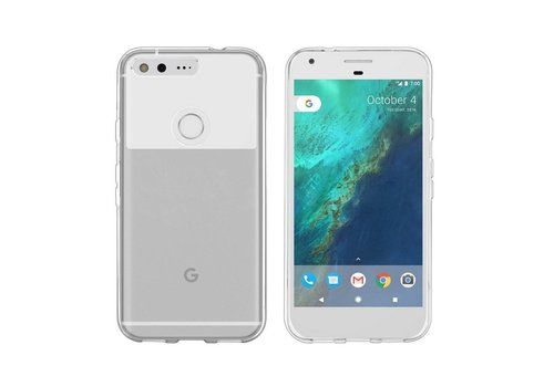CoolSkin3T Google Pixel Transparent White