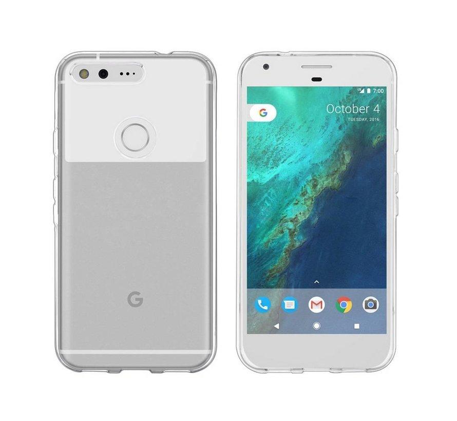 Google Pixel XL Hoesje Siliconen Transparant - CoolSkin3T