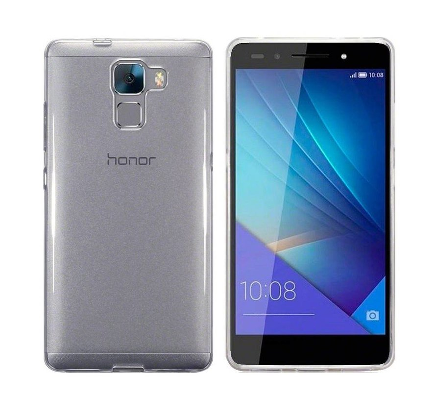 Huawei Honor 7 Hoesje Siliconen Transparant - CoolSkin3T