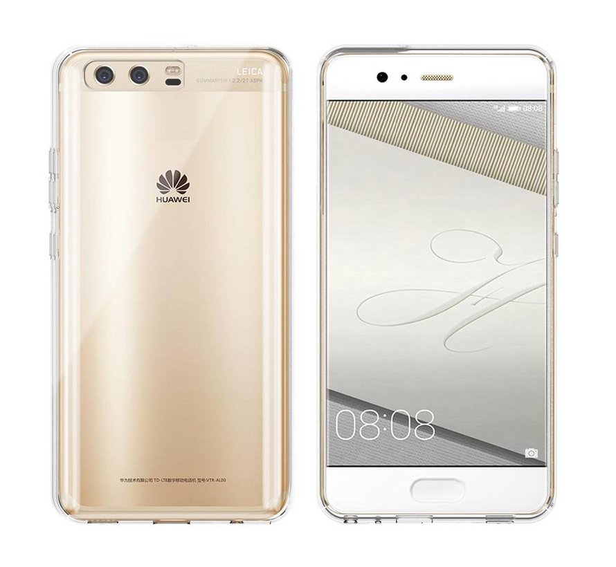 Huawei P10 Hoesje Siliconen Transparant - CoolSkin3T