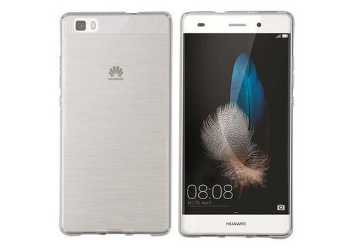 CoolSkin3T Huawei P8 Lite Transparant Wit