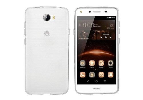CoolSkin3T Huawei Y5 2 Transparant Wit