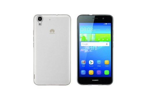 CoolSkin3T Huawei Y6 2 Transparant Wit