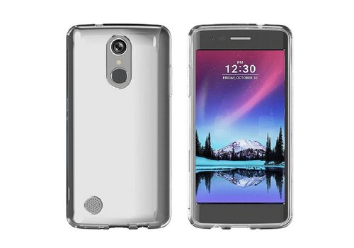 CoolSkin3T LG K10 2017 Transparent White