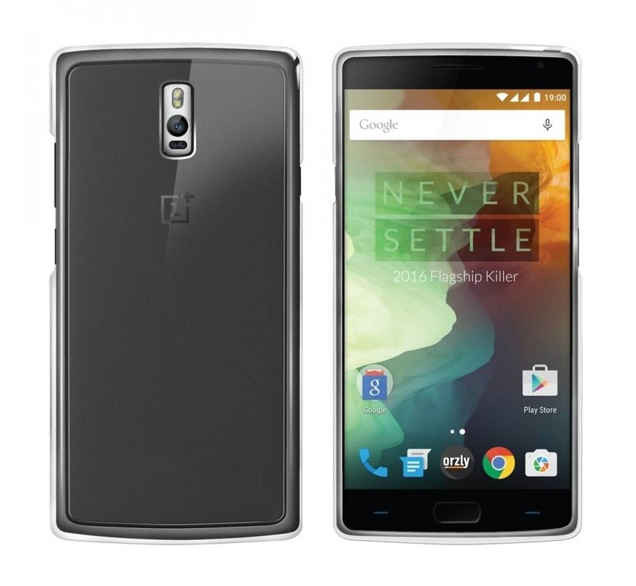 OnePlus 2 Hoesje Siliconen Transparant - CoolSkin3T