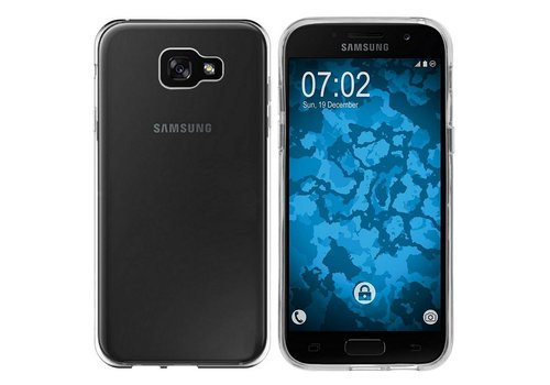Samsung A7 2017 Hoesje Transparant CoolSkin3T