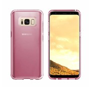 Colorfone Samsung S8 and S8 Duos Case Transparent Pink - CS3T