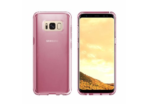 CoolSkin3T Samsung S8/S8 Duos Transparent Pink