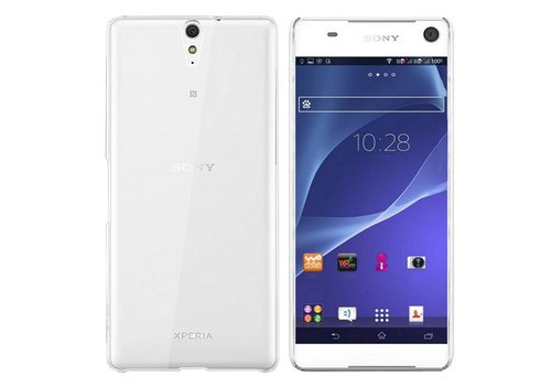 CoolSkin3T Sony Xperia C5 Transparent White