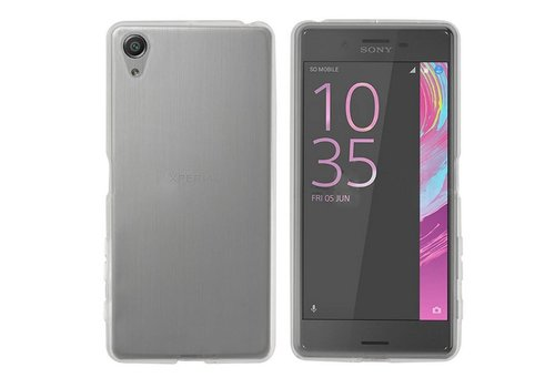 Sony Xperia X Performance Hoesje Transparant CoolSkin3T