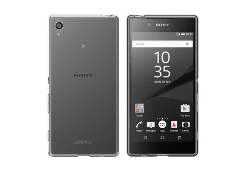 CoolSkin3T Sony Xperia XA Transparant Wit