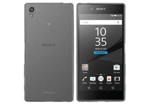 Sony Xperia Z5 Premium Hoesje Transparant CoolSkin3T