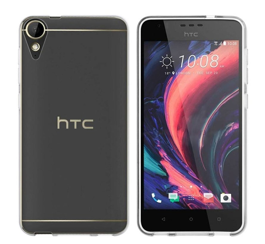 HTC 10 Lifestyle  Hoesje Siliconen Transparant - CoolSkin3T
